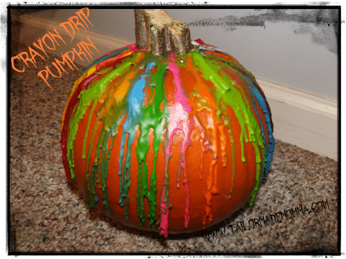 Crayon-Drip-Pumpkin