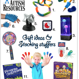 National Autism Resources Gift Guide