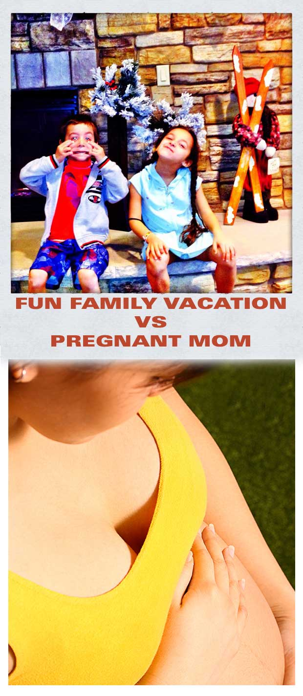Fun-Family-vacation-vs-Prgnant-mom