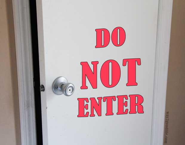 closed door - New Mom Challenges and Common Solutions