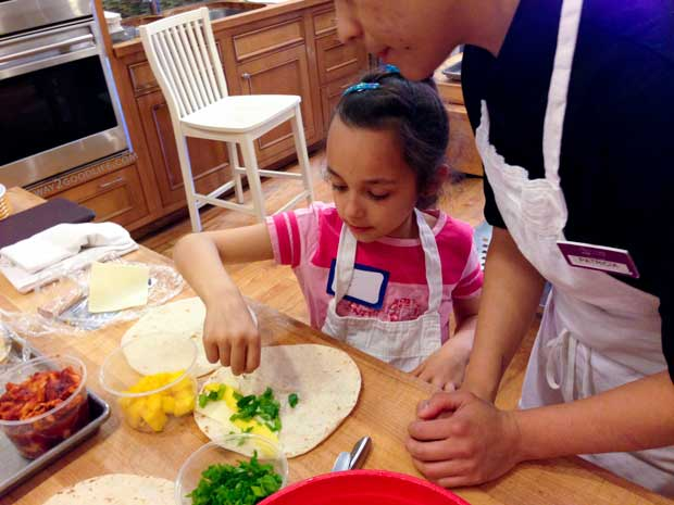 Mango-Quesadilla-in-progress-with-help