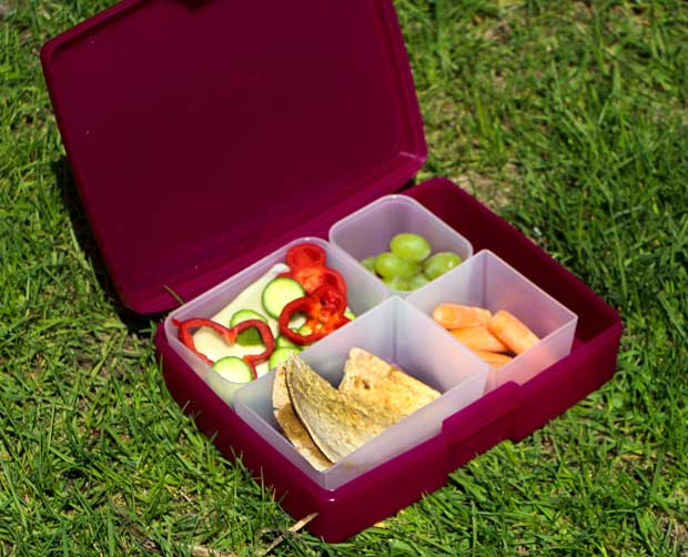 Pack a Snack for Camp into BentoBox