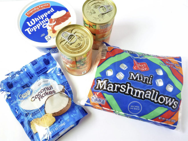 Mandarin Marshmallow Fluff Ingredients