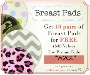 free stuff for new moms - free breast pads