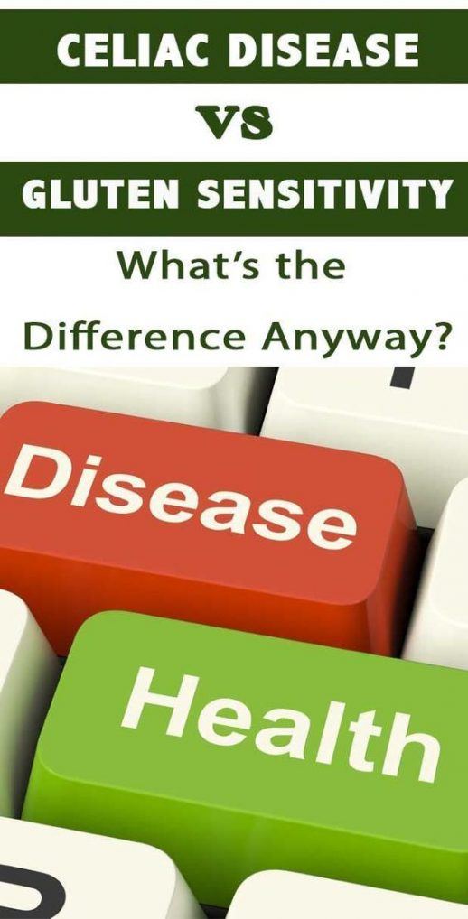 Celiac Disease vs Gluten Sensitivity: what's the difference anyway? #Celiac #Gluten-Free #CeliacDesease #Way2GoodLife