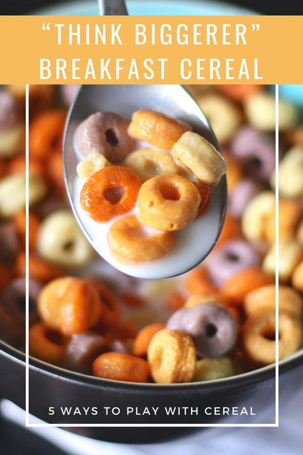 THINK BIGGERER ABOUT BREAKFAST CEREAL #motherhood #Way2GoodLife #breakfast #Family