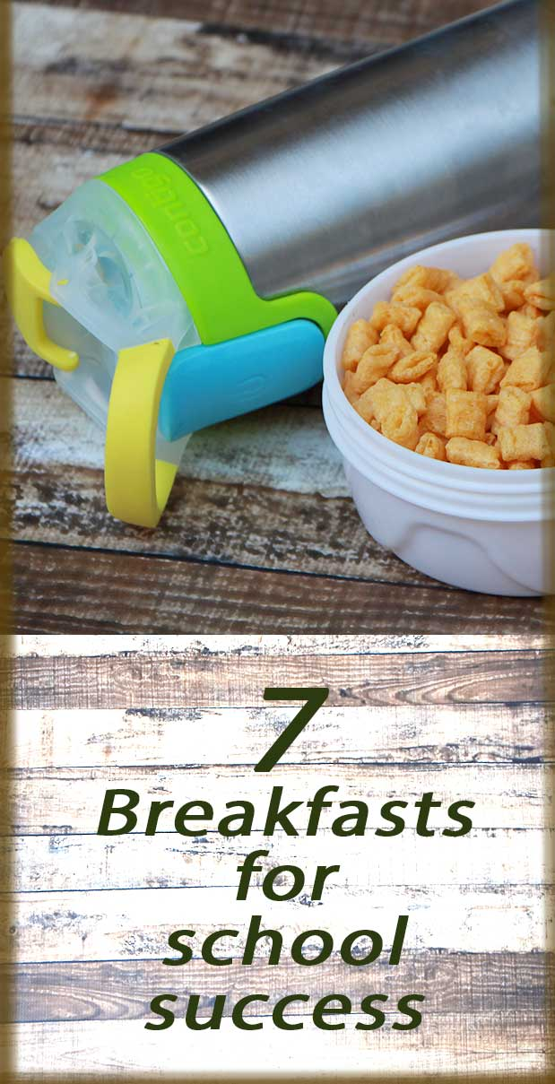 7 breakfasts for school success: Never leave your house hungry again with these easy to make breakfast. Back-to-school Special!