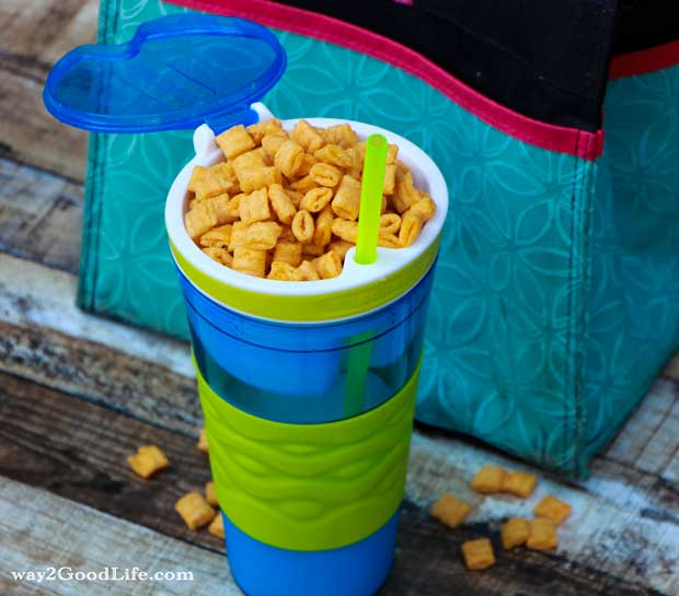 7 Brain Boosting Breakfasts for School Success - cereal in a cup