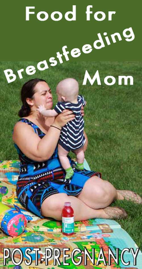 Post-Pregnancy and Food for Breastfeeding Mom. Thank about your body first and learn what kind of food will make you healthy