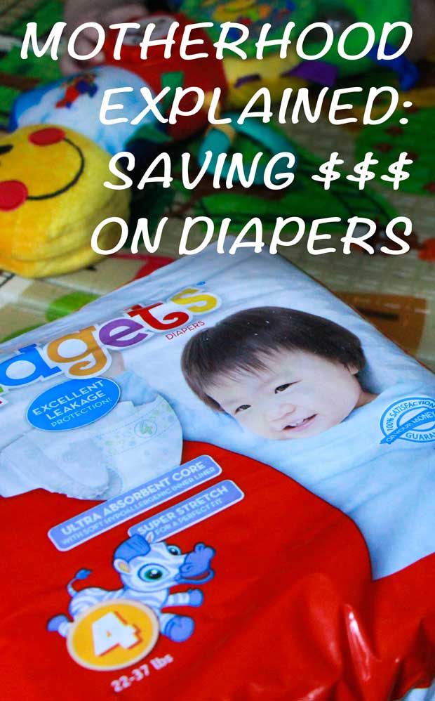 Babies are expensive! It's unbelievable how much money this bundle of goes through in a month. Let' save some money on diapers!