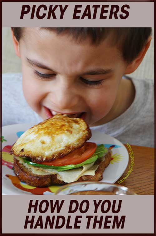 Picky Eaters: How do you handle them? How do you make sure they eat the good stuff. Learn from the  experts