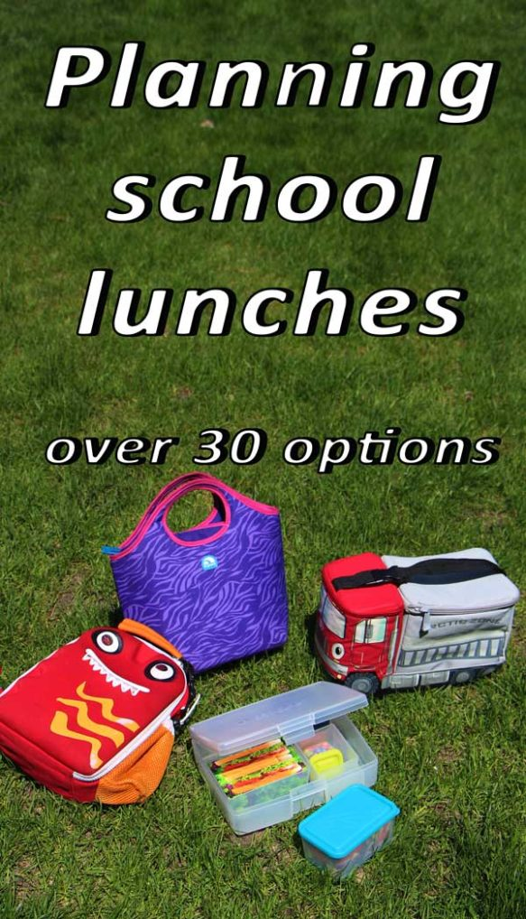Planning school lunches