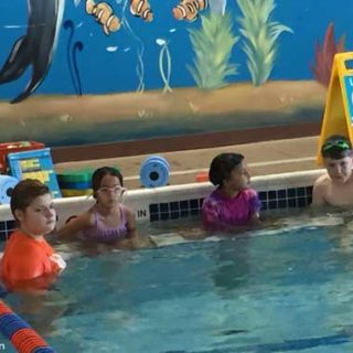 First Class at the Gold fish Swim School