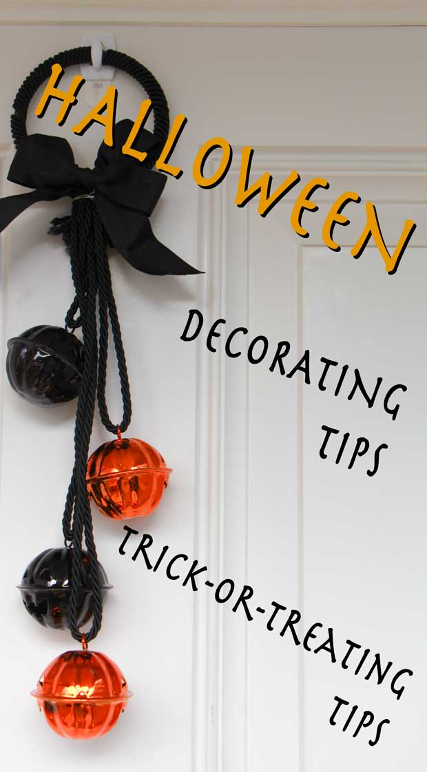How can make your cute outdoor Halloween decorations last a while? Decorating tips and some fun statistics!