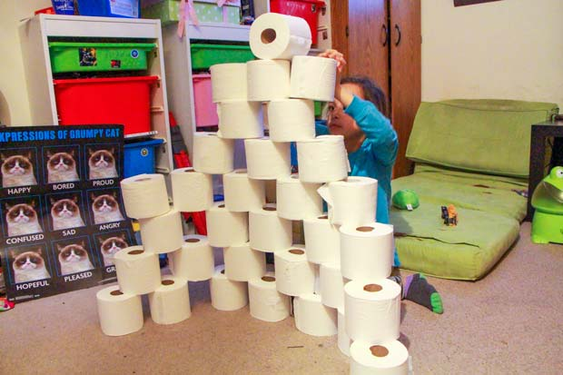 Toilet-Paper-Fort