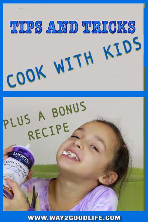 Kids cooking projects. How can you make sure that you both have fun? Perfect for the holiday season