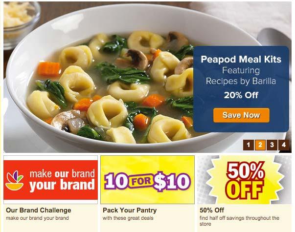 Peapod-Discounts-many-specials