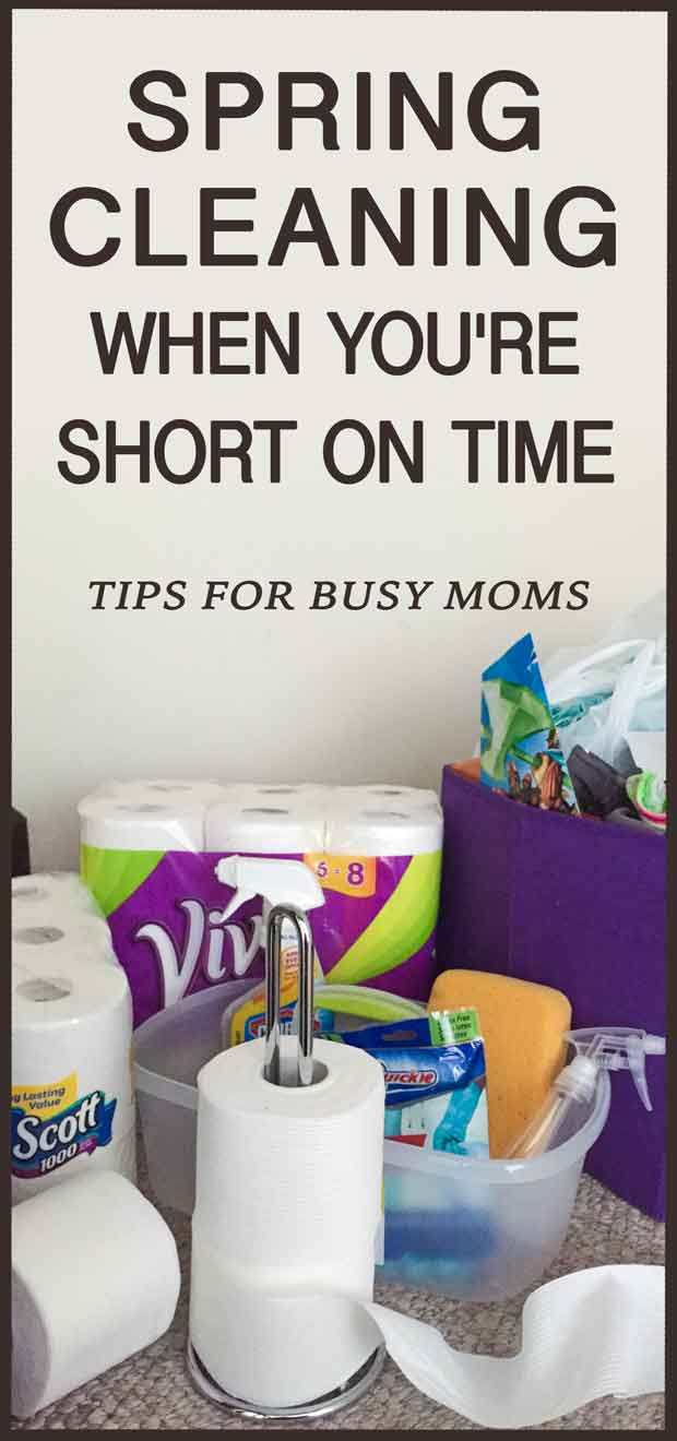 Are you short on time? Phew, I thought it was just me. Well, we are in luck, because we have a spring cleaning checklist - tips check list anyone can use #springcleaning #momhacks #Way2GoodLife