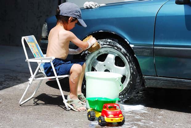 Washing-car