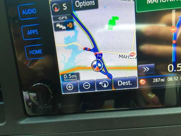 Toyota-GPS