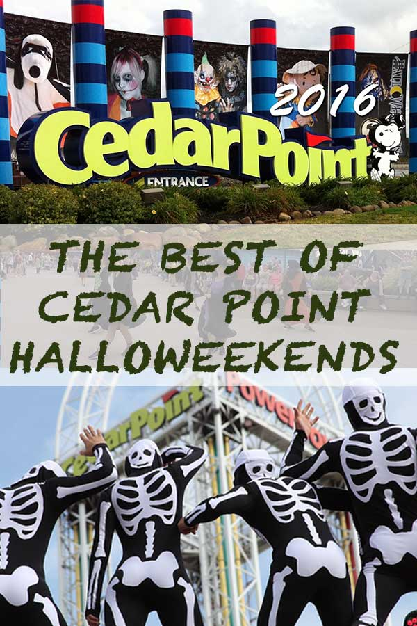 THE BEST OF HALLOWEEKENDS AT THE CEDAR POINT 2016