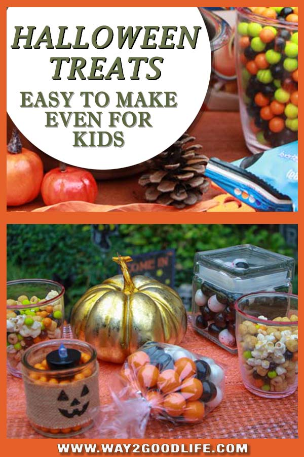 Looking for fun Halloween snack ideas for kids, but don't have much time? I am with you! But if you have 5 minutes or need to make fun food for a party (you forgot about), these treats are for you! YES - KIDS CAN HELP!
