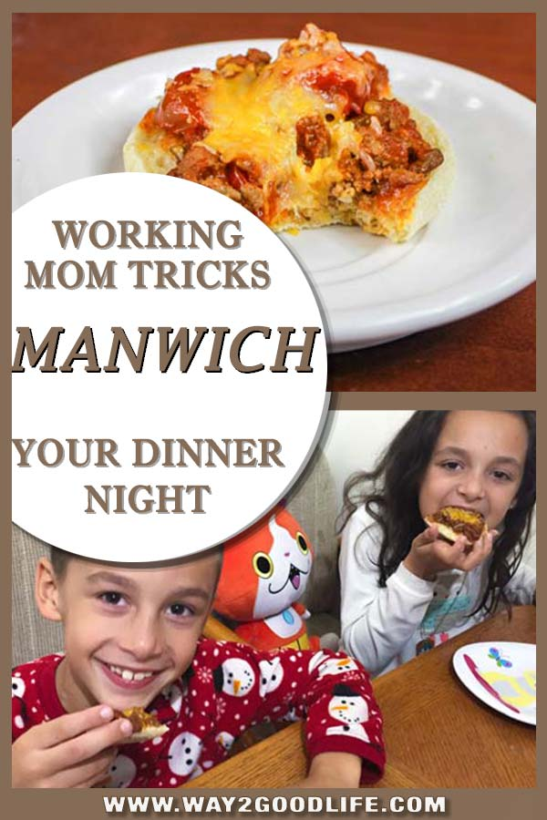 Putting a spin on the Manwich dinner to keep your hands clean. Still easy and makes a great backup dinner option for one of those days