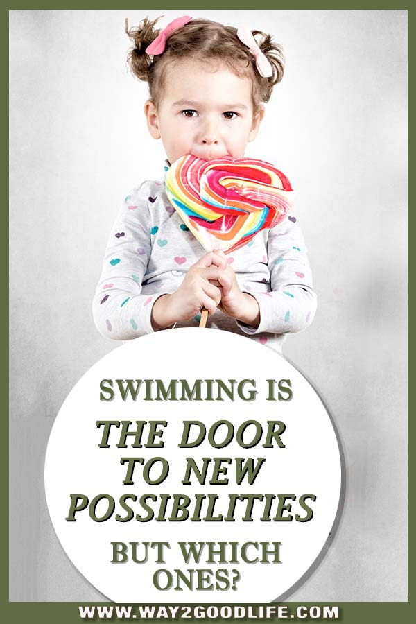 Three Doors that Open When You Learn How to Swim - Yes, being a great swimmer is an excellent skill but let's talk about all the other opportunities that it will open for your child! #learntoswimg #swimming #Way2GoodLife #swimteam