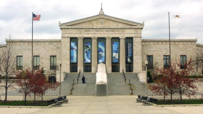 John Shedd aquarium building