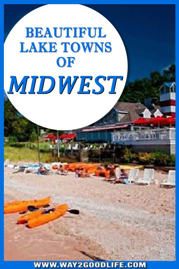 Midwest Travel with kids: Beautiful Lake Towns you should vist this summer. Of the road trips we will be taking soon. These immediatly caught out attention