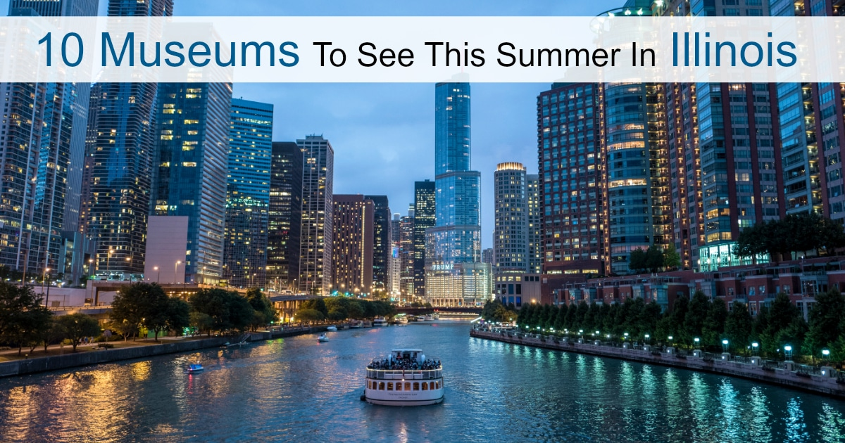 Summer Fun comes in many shapes and this list of 10 Museums In Illinois For Summer Fun is a great place to begin! Have fun with your family at one of these!