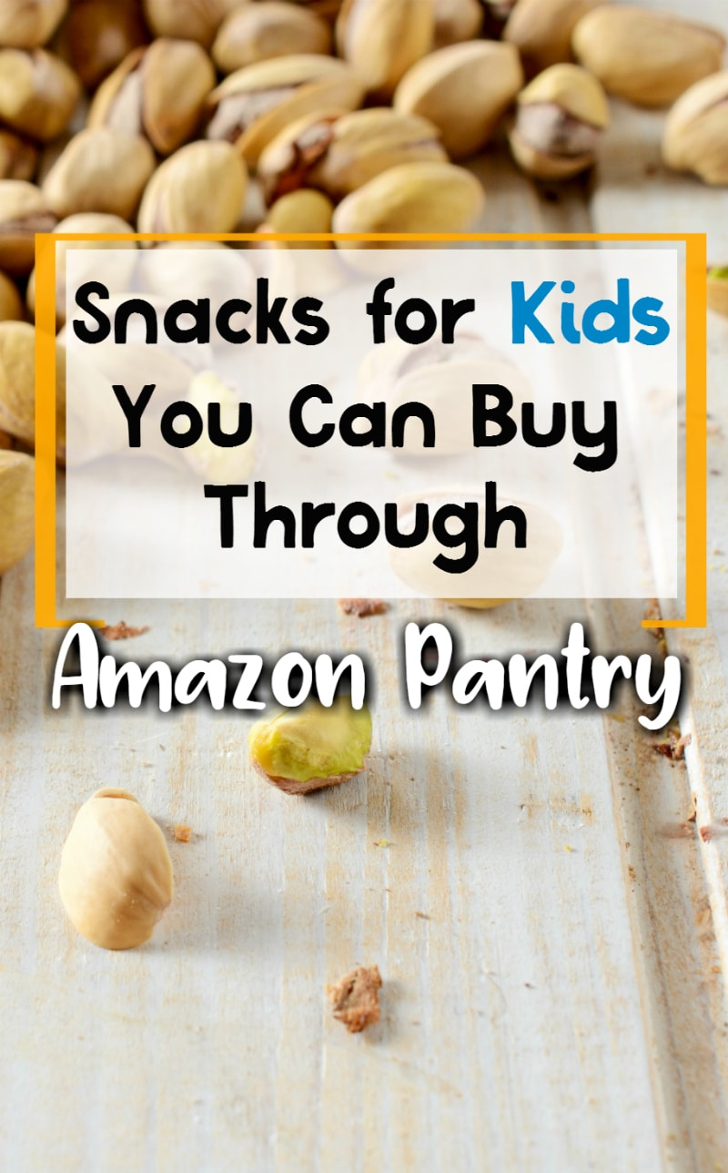 Check out this list of Kids Snacks you can buy through Amazon Pantry!  Tons of great options everyone will enjoy in your home this summer!