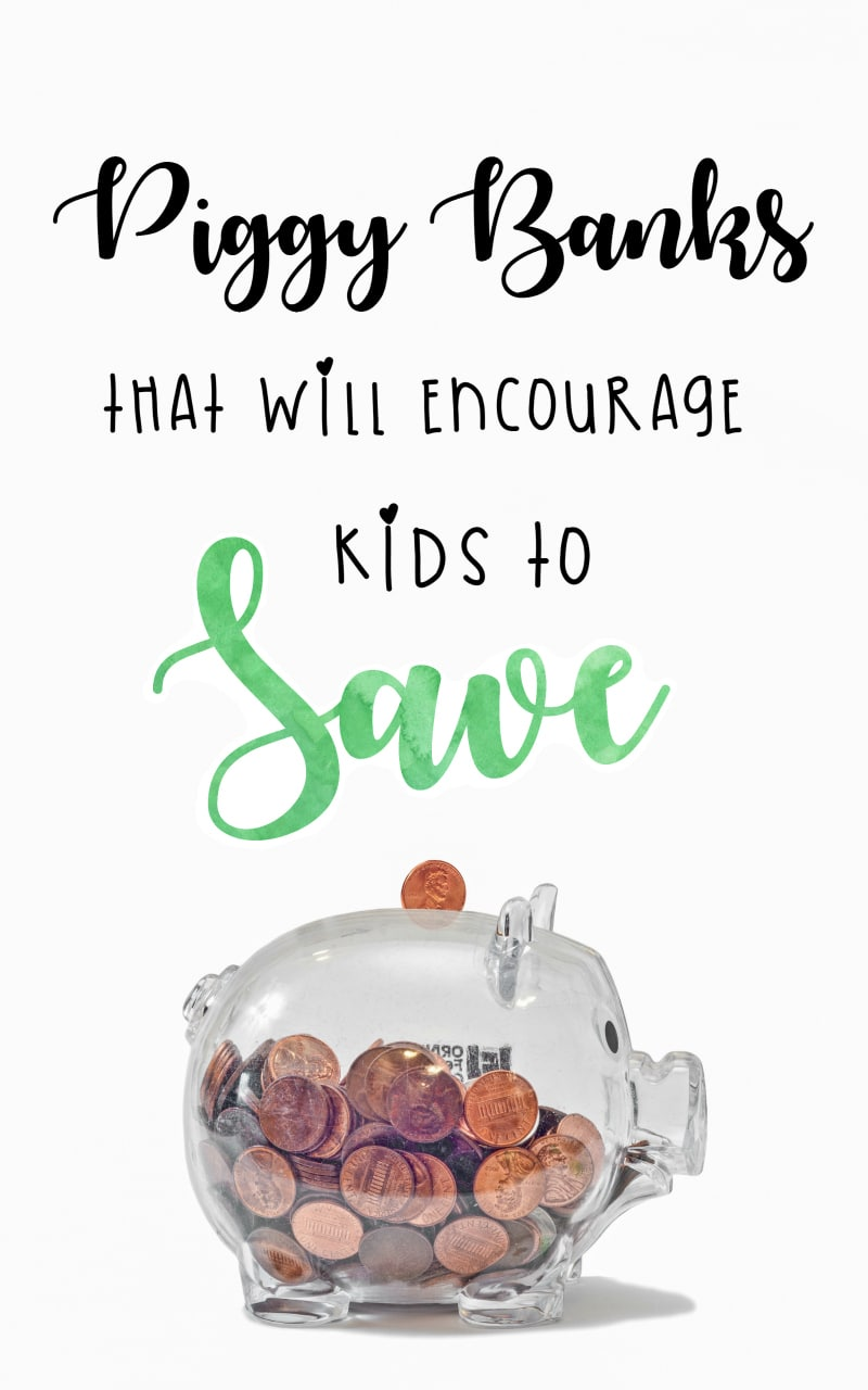 Teach your kids money management with a Piggy Bank. Not only these are fun to use, they will make your kids better savers and better spenders #Money #familybudget #budget #kids #Way2GoodLife