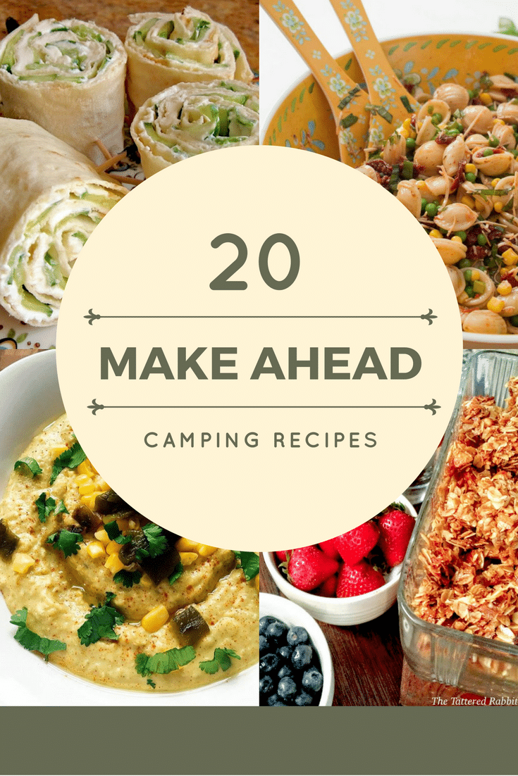 Make Ahead Meals save tons of time and these Camping Recipes are a perfect solution for your upcoming trip! #camping #roadtrip #Way2GoodLife #summer