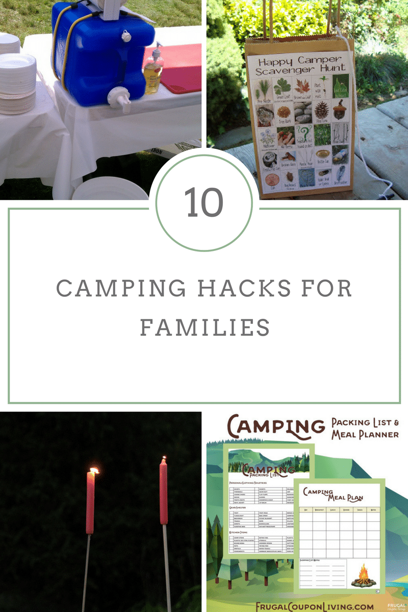 Camping Trips are much easier when you use our Camping Tips and Hacks ideal for Families!