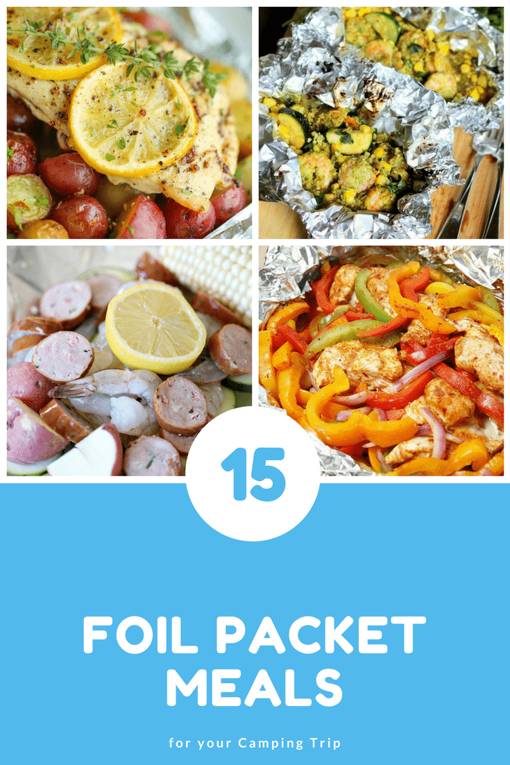 Foil Packet Meals are ideal for your next camping trip! Check out this amazing Camping Hack for delicious foil packet meals in the outdoors! #summer #Grill #Camping #Way2GoodLife