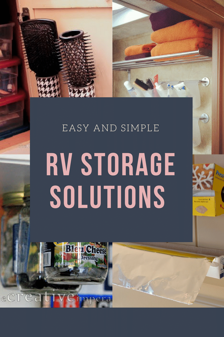 Heading on an RV trip? Check out our Top 12 RV Storage Ideas that will totally revolutionize traveling in an RV with your family! #roadtrip #Way2GoodLife #familytravel