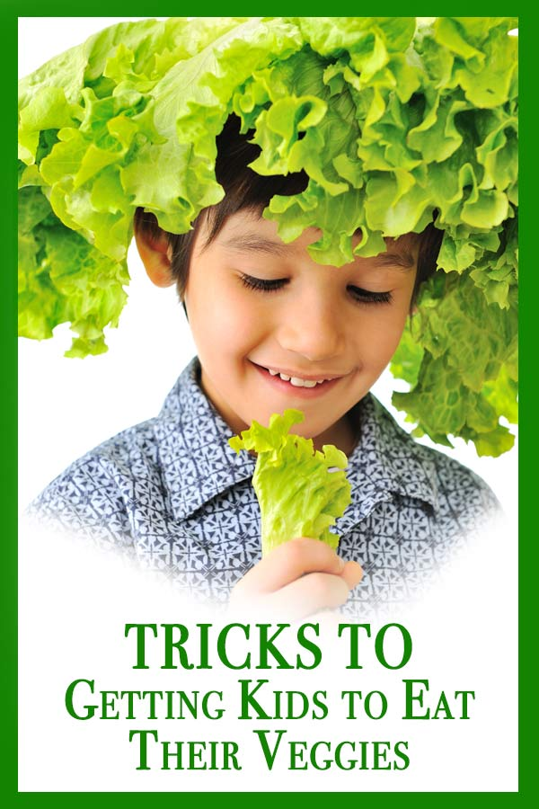 Tricks to getting kids eat their veggies