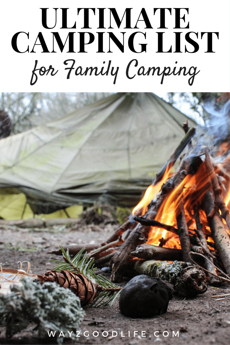 Camping List is a must need when packing for your upcoming trip! Check out our Ultimate Camping List for Families to make camping adventures easy to manage!