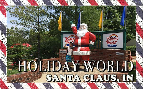 Have you ever been Santa Claus, IN? That is where Santa Claus goes for summer. Today we are sharing the best of the Holiday World Theme Park