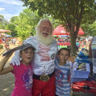 Holiday World Photo w Santa - Santa Claus, IN