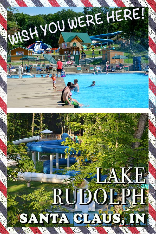 If you are traveling to Santa Claus IN, you gotta stay at the Lake Rudolph and here is why