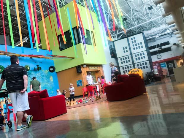 Second floor at Chicago Children's Museum