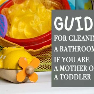 Guide for Cleaning a Bathroom if You are a Mother of a Toddler #toddler #bathroom #cleaningchores #family