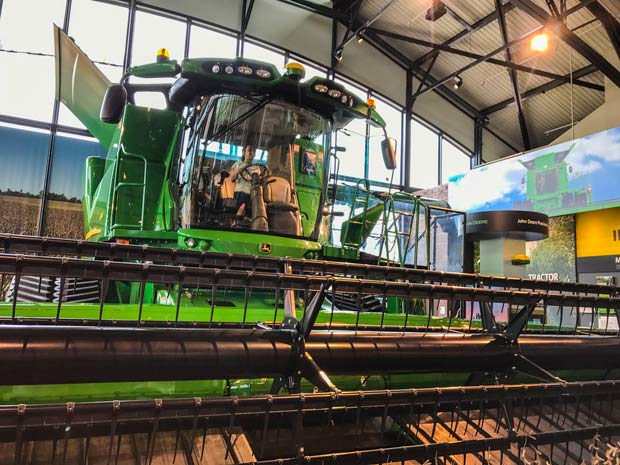 John Deere Pavilion Tractor - huge harvester