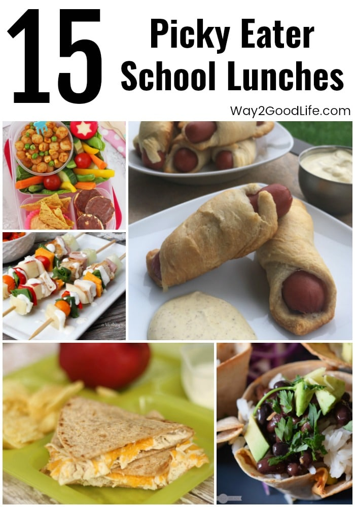 Check out our favorite 15 Picky Eater School Lunches recipes and ideas! These are ideal for making sure your kids eat their lunch with no complaints!