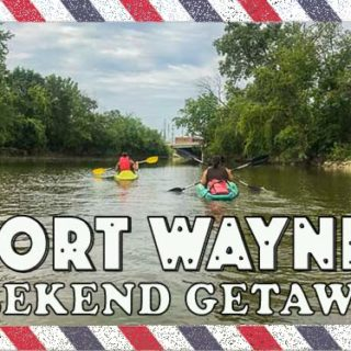 Weekend Stay at the Fort Wayne - great family weekend getaway and a one tank trip from Chicago. Fun Midwest destination with something for everyone #way2goodlife #familytravel #midwest #FortWayne