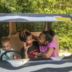Ft Wayne Zoo crazy car - Weekend Stay at the Fort Wayne - great family weekend getaway and a one tank trip from Chicago. Fun Midwest destination with something for everyone #way2goodlife #familytravel #midwest #FortWayne