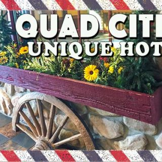 Where to stay at Quad Cities - Great family weekend getaway and a one tank trip from Chicago. Fun Midwest destination with something for everyone #way2goodlife #familytravel #midwest #QuadCities