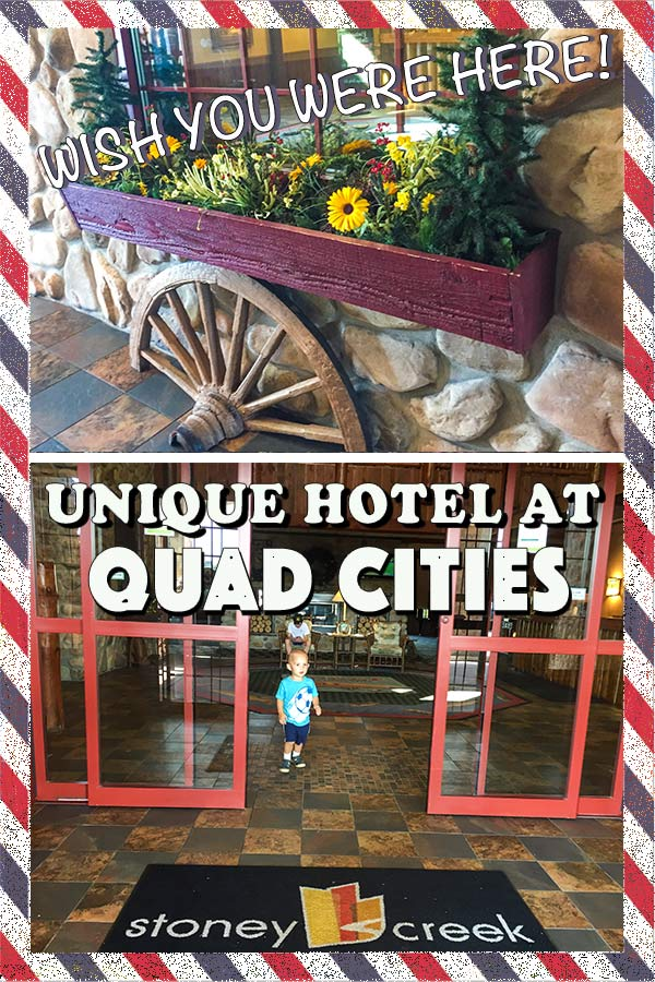 Where to stay at Quad Cities? If you have been looking for a combination of unique and family friendly hotel, you have to check it out! #hosted